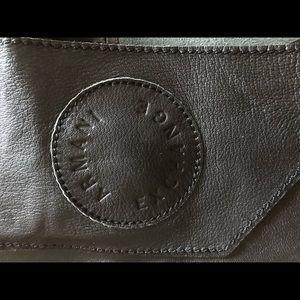 Armani exchange Black wraparound or sash belt